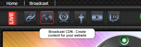 Embed a CDN Broadcast